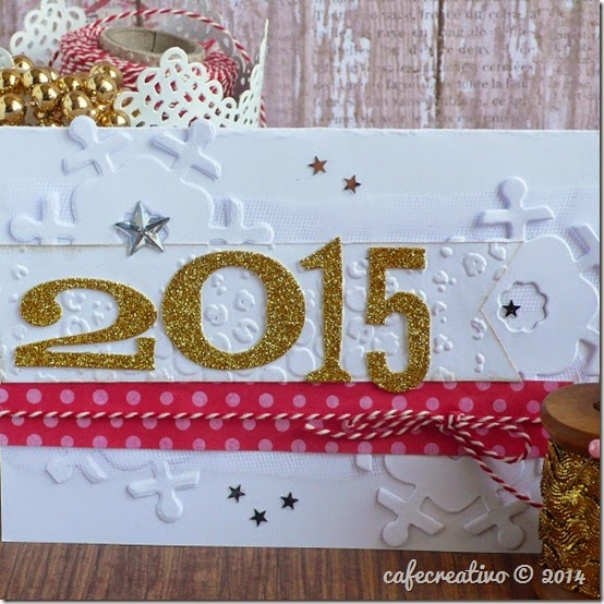 cafecreativo - big shot - Christmas card 2015 - Natale biglietto 1
