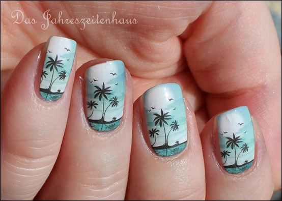 0 P2 Limited Edition LE Pool Side Party Ready fot Sundown Nail Foil Nagelsticker
