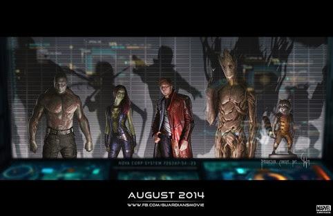 Primer trailer de Guardianes de la Galaxia