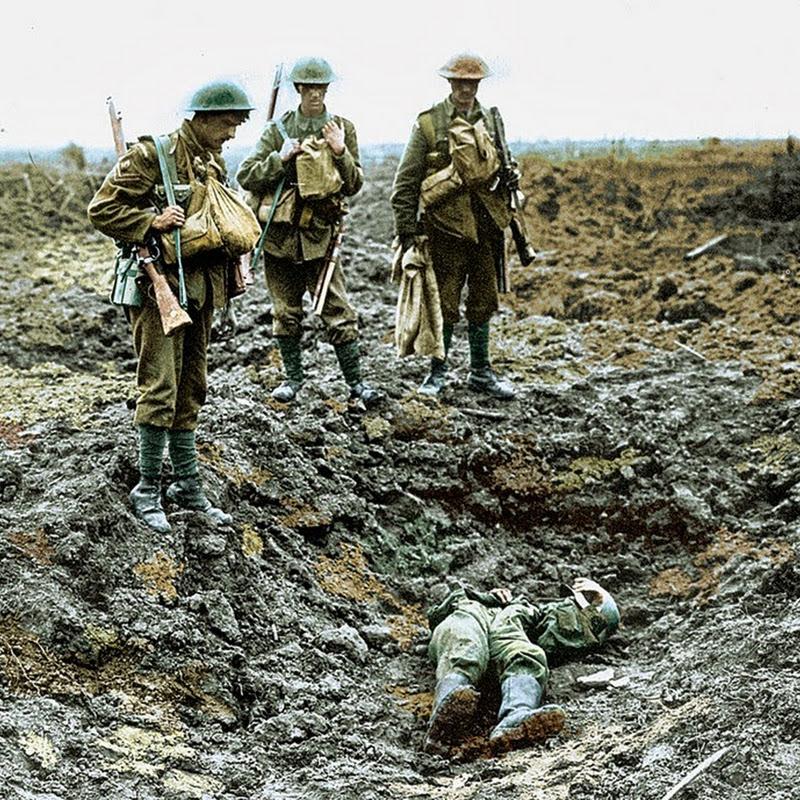 30 fotografias em cores da Primeira Guerra Mundial
