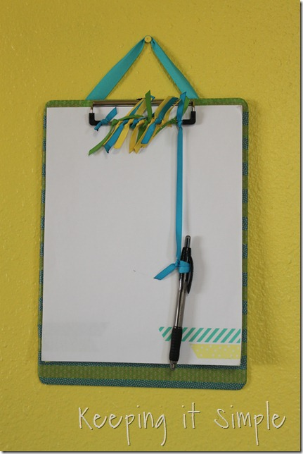 washi tape clip board (7)
