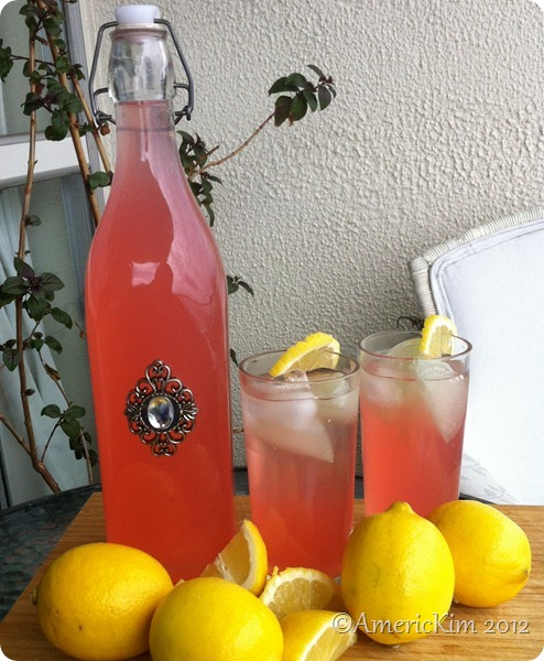 Refreshing Pink Lemonade