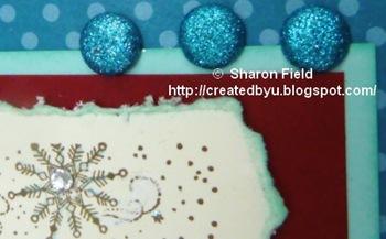 4.glitterbradsaccenttwinklingsantacard