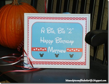 2 Birthday Sign