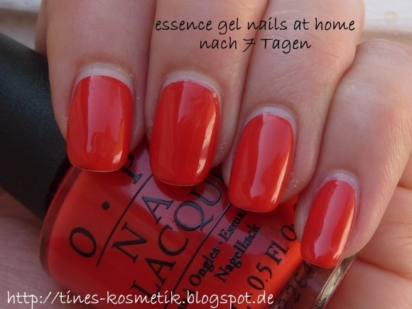 essence gel nails at home 7 Tage 2