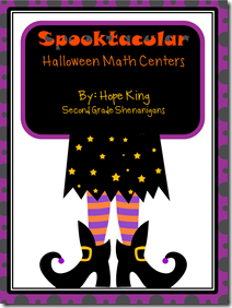 October Playing Card Math Centers