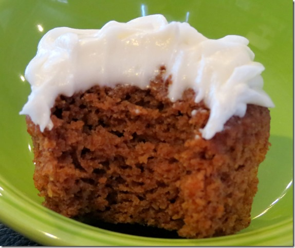 Guiltless Carrot Cupcake 2