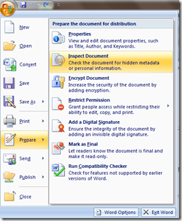 How To Remove Sensitive or Personal Information From Word Document