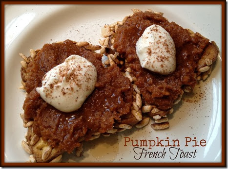 pump pie french toast