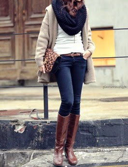 scarves-boots-fall-outfits-570x754