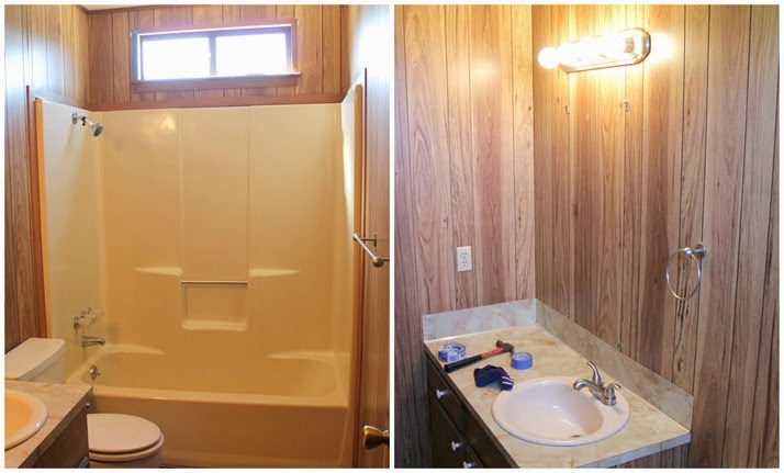 Guest Bathroom Redo Before