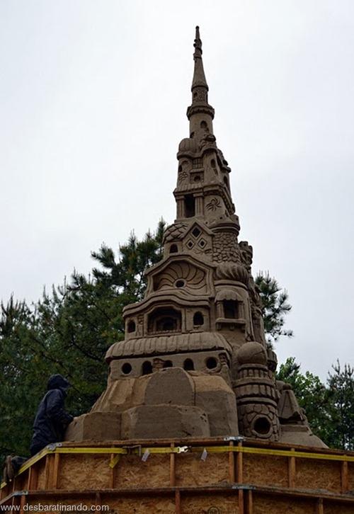 castelo de areia maior do mundo guinnes world book desbaratinando (7)