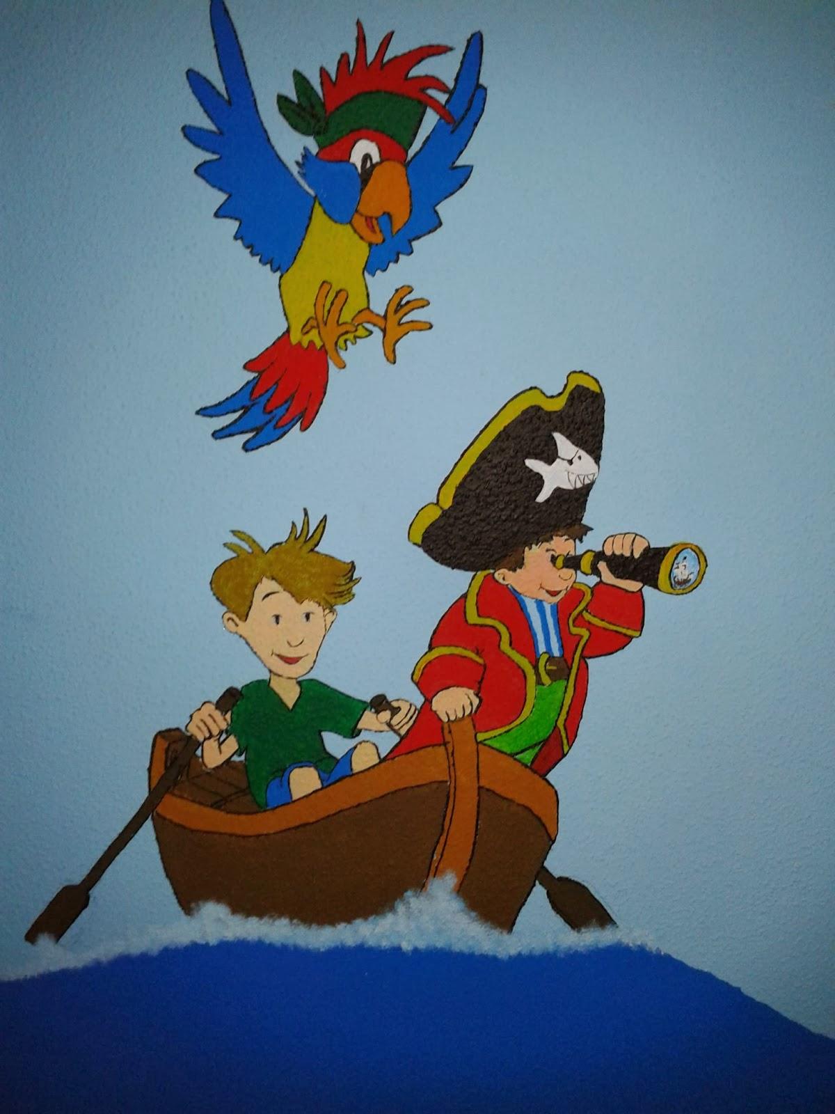 FadenFeuer: Ahoi Piraten! - Ein Schiff im Kinderzimmer