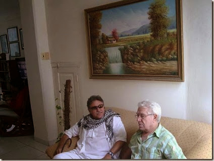 Comandante Jesús Santrich y Tony López