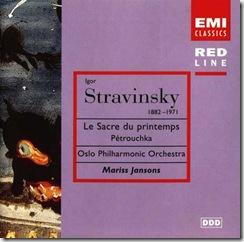Stravinsky Consagracion Jansons Oslo