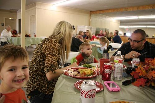Thanksgiving & BU Slickpaw 118