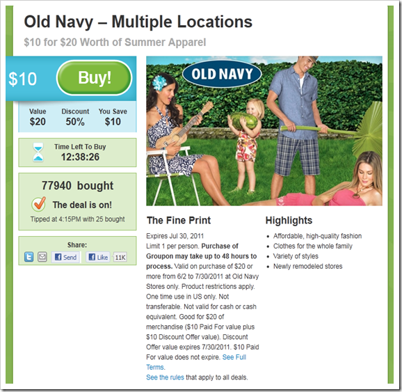 Half-Off-Old-Navy