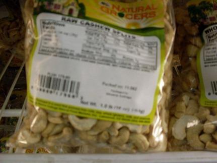 chew nuts