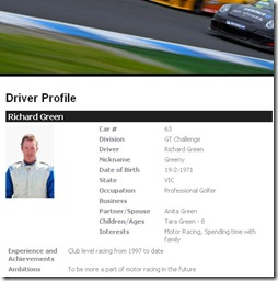 driver profile green