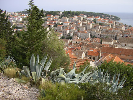 What to see in Croatia: Old city Hvar panorama