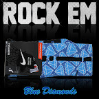 nike basketball elite lebron socks diamond 1 01 Matching Nike Basketball Elite Socks for LeBron 9 Miami Vice