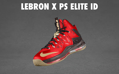 nike lebron 10 ps elite id options preview 1 11 NIKE LEBRON X PS ELITE Coming to Nike iD on April 23rd