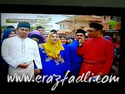 Gambar Perkahwinan Fizo Omar dengan Mawar Fareeda