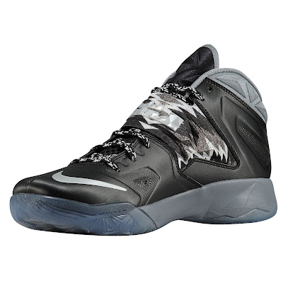 nike zoom soldier 7 gr black grey 1 01 eastbay LEBRONs Nike Zoom Soldier VII $135 Pack Available at Eastbay