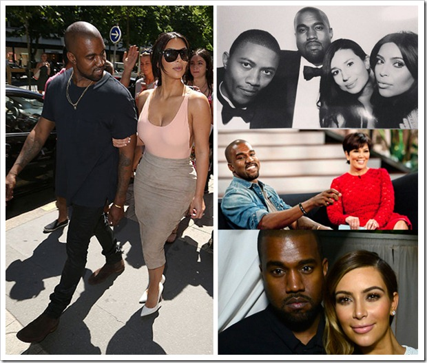 Kim Kardarshian Ties With Kanye West