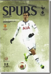 Spurs vs Anzhi prog
