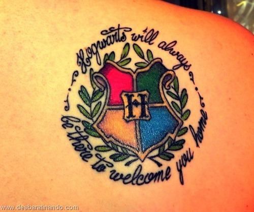 tatuagens harry potter tattoo reliqueas da morte bruxos fan desbaratinando (43)
