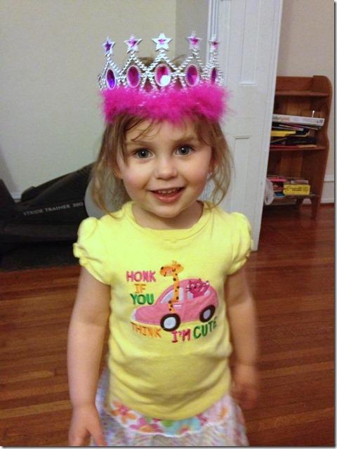Cassidy the princess