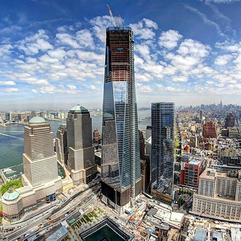 Rebuilt World Trade Center Becomes New York's Tallest Skyscraper
