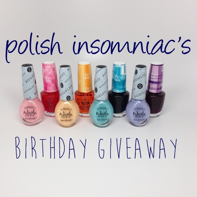 polish insomniac's Birthday Giveaway