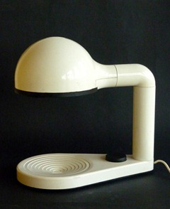 Drive table lamp by Adalberto Dal Lago for Bieffeplast (1974)
