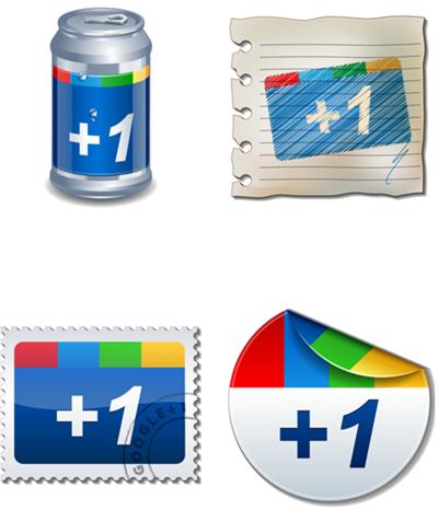 Google Plus buttons