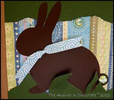 Chocolate Vinyl Bunny