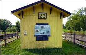 03gb - Mohawk River (Erie Canal) Bike Trail - Lock 23 of the Erie Canal