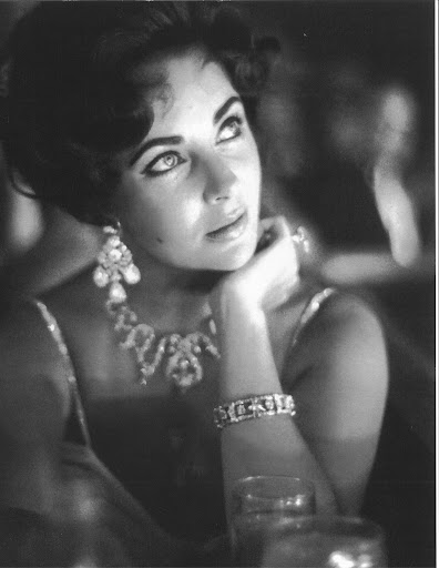 She was always so stunning. (photo, Elizabeth Taylor:My Love Affair With Jewelry)