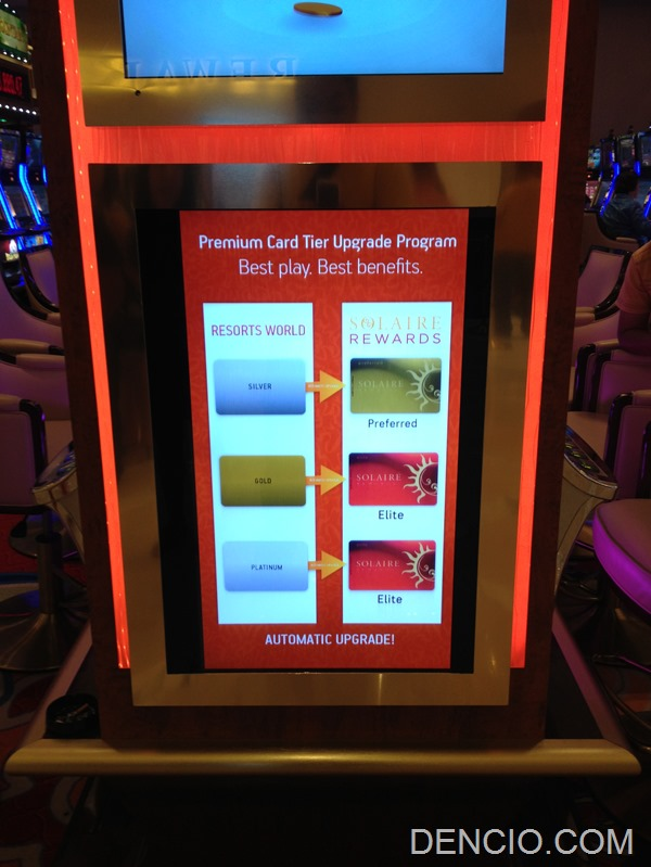 Upgrade your Resorts World Card at Solaire Resort and Casino