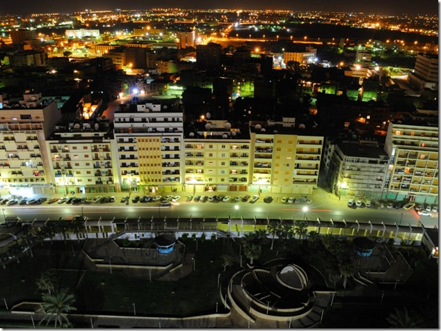 Libya Night in Benghazi