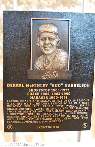 'Bud Harrelson Hall of Fame Plaque' photo (c) 2010, slgckgc - license: http://creativecommons.org/licenses/by/2.0/
