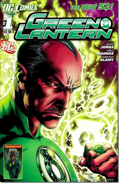 P00001 - Green Lantern #1 - Sinest