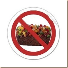 no fruit cake