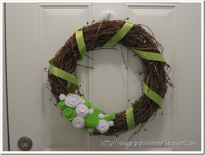 St, Patrick's Wreath