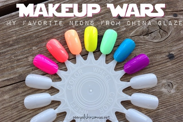 polish insomniac's Favorite Neon Polishes from China Glaze