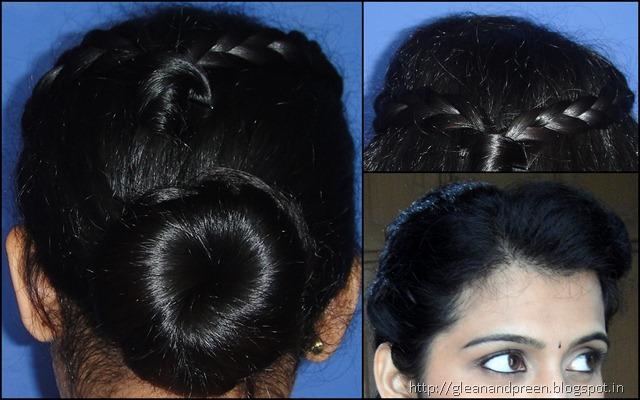 Side Puff Hair Bun