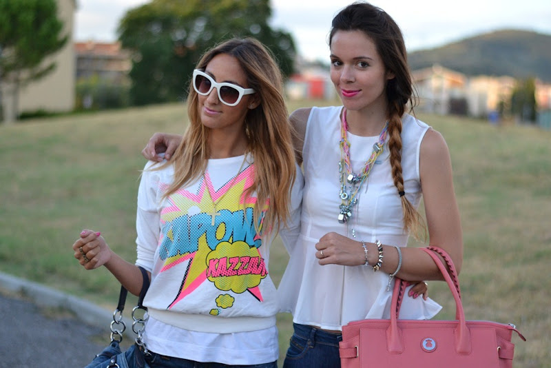 Italian Fashion Bloggers, Irene Colzi, Irene's Closet, Elisa Taviti, My Fantabulous World, Fashion Blog