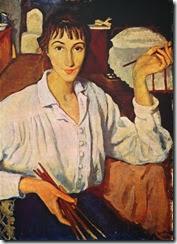 Zinaida-Serebriakova-Self-portrait-2-