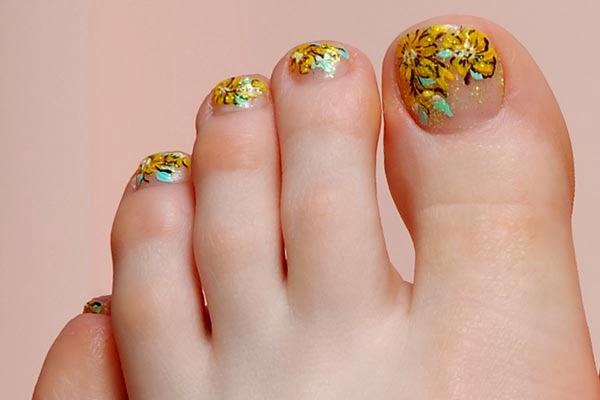 Cute Toe Nail Art Designs Pretty Toe Nail Designs Nail Art Design